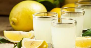 Спотыкач с лимоном