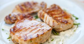 Экспресс-мясо в маринаде из киви