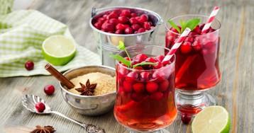 10 рецептов безалкогольных коктейлей к праздничному столу
