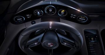 Спортивный электрокар Porsche Mission E сможет выдавать 670 лошадиных сил