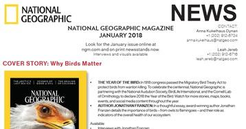 National Geographic Magazine, January 2018