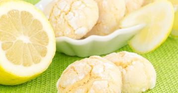 Лимонное печенье по-домашнему
