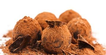 Домашние шоколадный трюфели