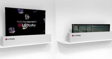 CES 2018: LG exibe TV OLED enrolável de 65 polegadas