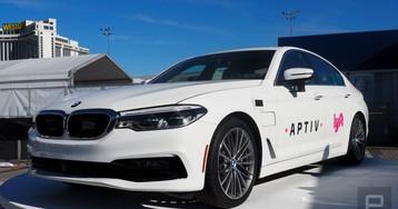 Aptiv's self-driving Lyfts at CES take erratic Las Vegas traffic in stride