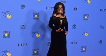 Oprah Winfrey's Globes Speech Stirs Talk of a Trump Challenge