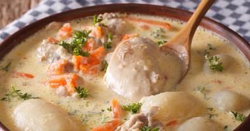 Классический бельгийский суп Ватерзой
