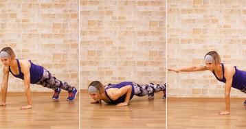 3 варианта планки для сильных мышц кора
