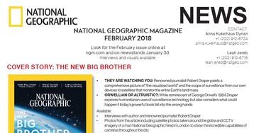 National Geographic Magazine, February 2018
