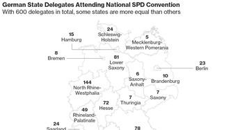 German Stability at Stake in Vote on Merkel Coalition Talks