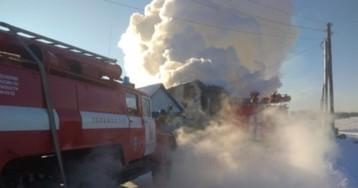 Пять приемных детей погибли в жутком пожаре под Омском