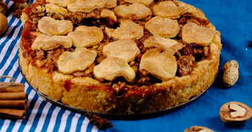 Видео-рецепт: Бюнднерский ореховый пирог