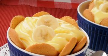 Вкуснейший банановый пудинг