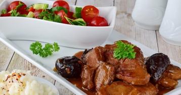 Вкуснейшая говядина с черносливом