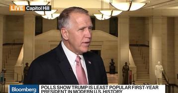 Sen. Tillis Looks Ahead to Trump's State of the Union Address