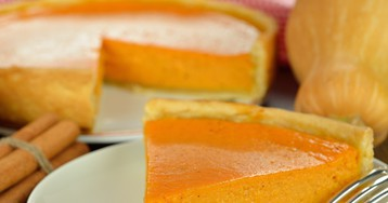 Ароматный американский тыквенный пирог
