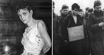 Как наказали предателей, выдавших Зою Космодемьянскую фашистам