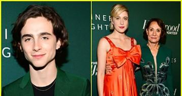 Timothee Chalamet, Greta Gerwig, Laurie Metcalf & More Celebrate at THR's Nominees Night!