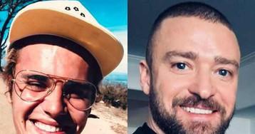 Justin Bieber não poupa elogios a Justin Timberlake no Super Bowl 2018