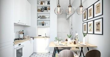 Коллекция самых удачных планировок маленьких кухонь