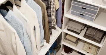 8 советов по организации хранения в маленькой гардеробной