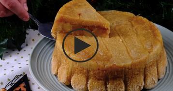 Видео-рецепт: Необычная шарлотка