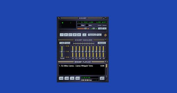 Get some media player nostalgia with this web version of Winamp