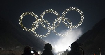 Winter Olympics opening ceremony sees Intel use record 1,218 drones