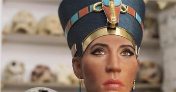 Реконструировано лицо египтянки, похожей на Нефертити
