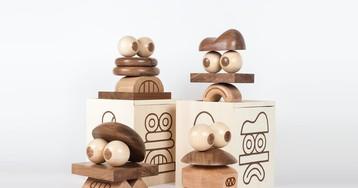 "Case Studyo & Pointdextr Make Playful Wooden ""House Gods"" Sculptures"