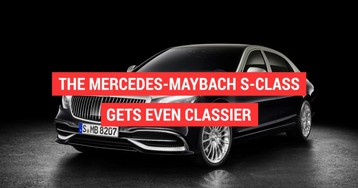 The Mercedes-Maybach S-Class  gets even classier