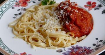 Паста с домашним томатным соусом от Марчеллы Хазан