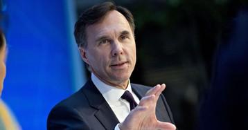 Canada Remains Competitive Despite U.S. Tax Cuts, Morneau Says