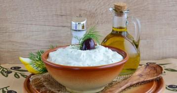 Греческий соус дзадзыки