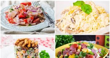 Подборка истинно мужских салатов на 23 февраля