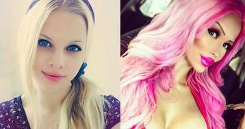 18-летняя чешка тратит мамины деньги, чтобы выглядеть как кукла Барби. Мама не против