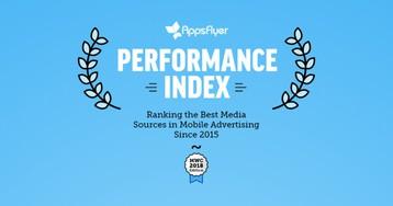 AppsFlyer Performance Index за второе полугодие 2017