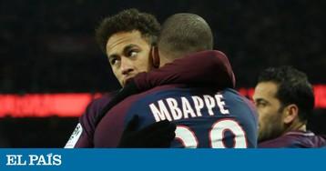 PSG cogita vender Mbappé para agradar Neymar