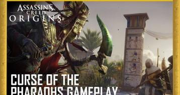 Видео | Assassin's Creed Origins. Трейлер «Проклятие фараонов»