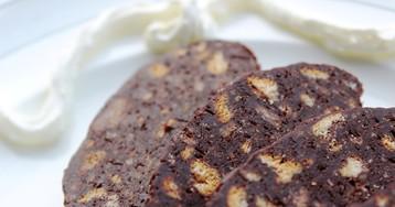 """Шоколадная колбаска """"Салями"""""""