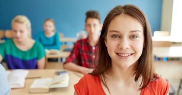 Проявление вежливости клюбимой учительнице