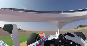 Что видит гонщик Формулы-1 с новой защитой?