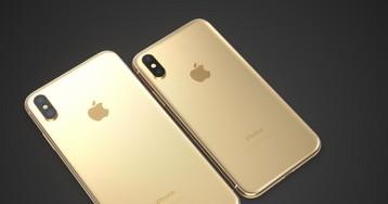 Conceito imagina como seria um iPhone X dourado