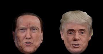 Trump o Berlusconi? Chi l'ha detto?