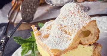 Кремовый торт-пирог «Карпатка» – безумно вкусно!