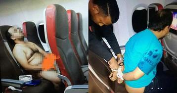 Passageiro fica nu em avião para assistir a filme pornô e é preso