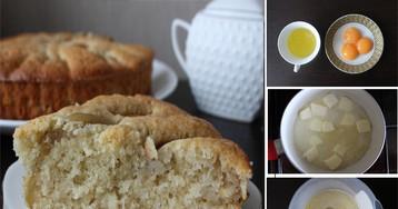 Пошаговый фото-рецепт: Корнуэльский яблочный пирог