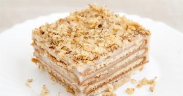 Пошаговый фото-рецепт: Торт без выпечки