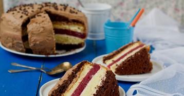 """Многослойный торт """"Мишель"""" – божественный вкус!"""