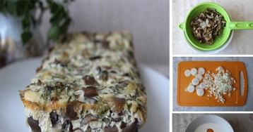 Нежный грибной террин: пошаговый фото рецепт